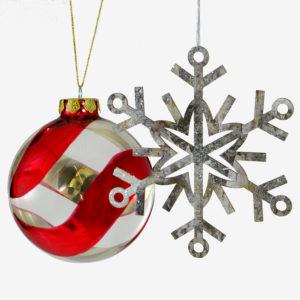 Christmas Tree Ornaments & Trims