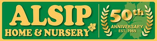 alsip nursery logo 50th anniversary