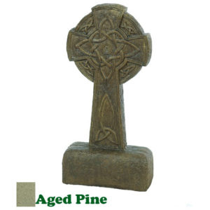 Large Celtic Cross-Aged Pine