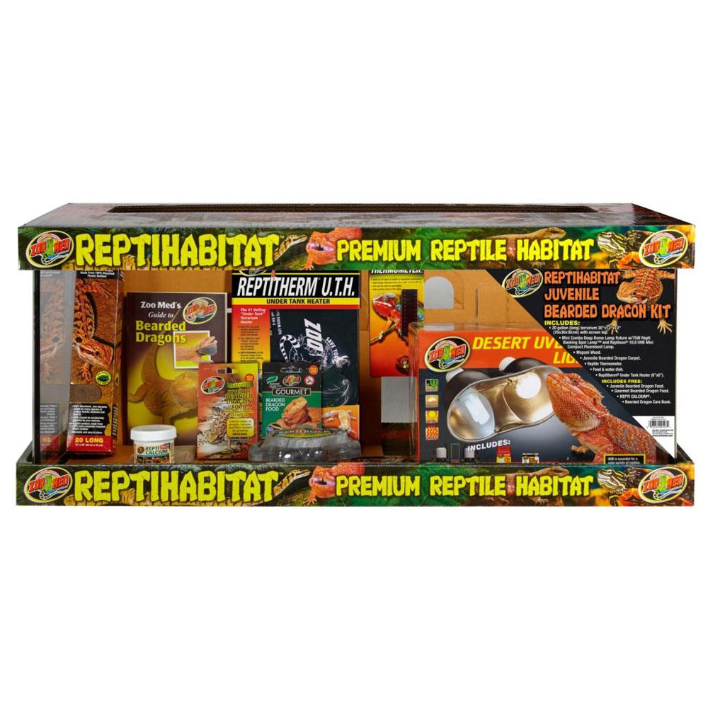Repti Habitat Juvenile Bearded Dragon Kit 20 Gallon
