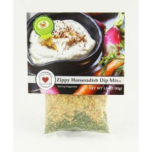 Zippy Horseradish Dip