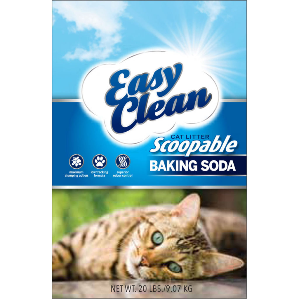 Pestell Easy Clean Clumping Cat Litter With Baking Soda 20