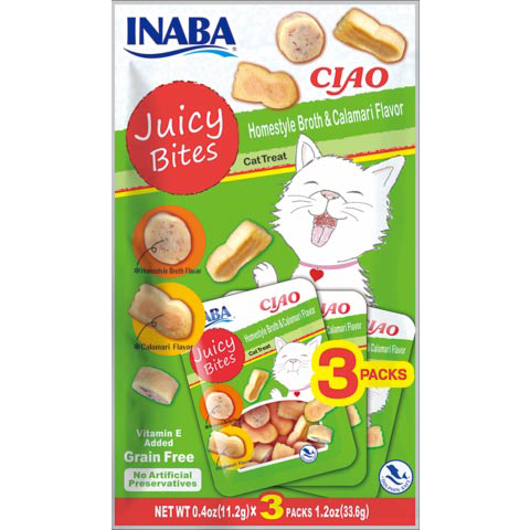 Ciao Juicy Bites-Homestyle & Calamari Flavor