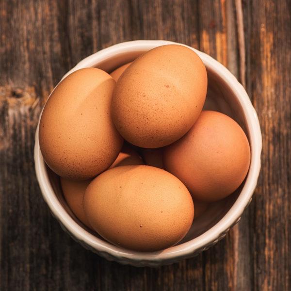Farm to Table CSA Half Dozen of Farm Fresh Eggs
