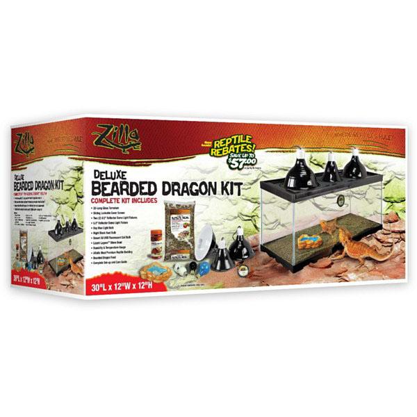 Zilla Bearded Dragon 20L Habitat Kit