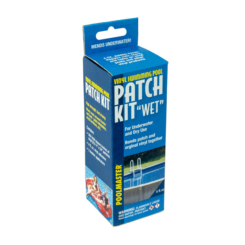Vinyl Patch Kit – Wet/Dry, 4 oz.