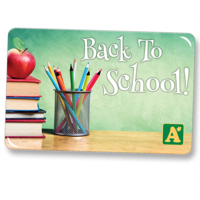 Phenomenal Back To School 100 E Gift Card Alsip Home Nursery Funny Birthday Cards Online Fluifree Goldxyz