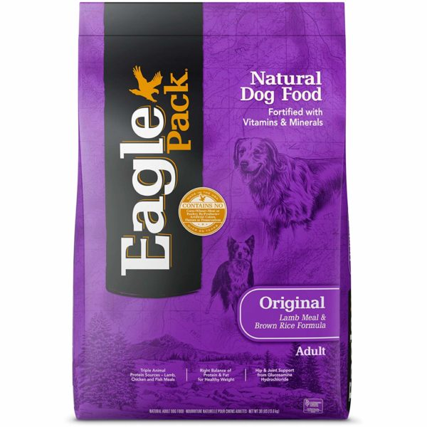 eaglepack original lamb and rice dog food