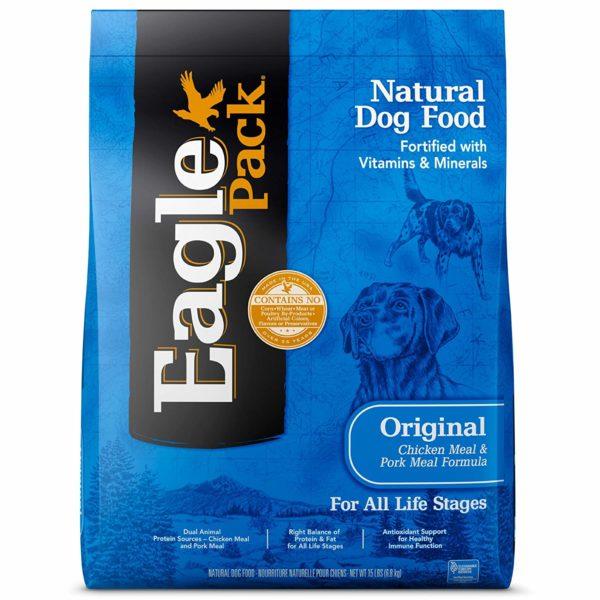 eaglepack original chicken and pork dog food