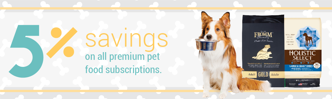 5% Off Premium Pet Food Subscriptions with Chew Crew