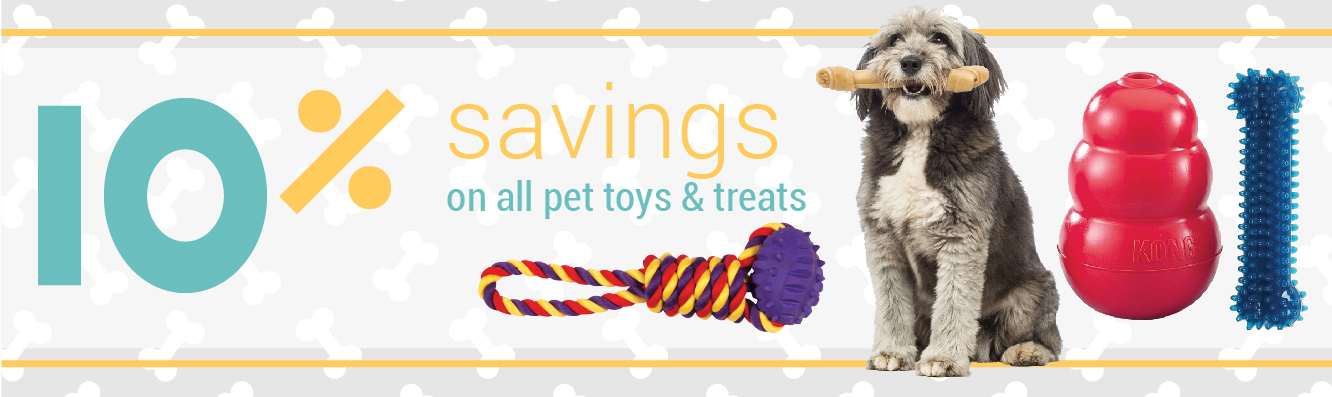 10% Off Treats & Toys with Chew Crew Membership