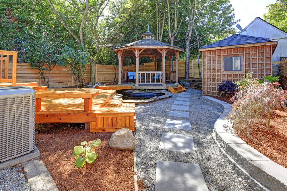grassless gardening patio mulch st john frankfort