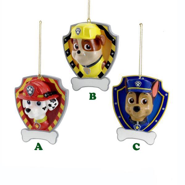 Paw Patrol Christmas Ornament.Kurt Adler Paw Patrol Ornament