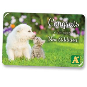 E-Gift Card New Pet