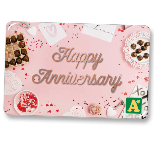 E-Gift Card Happy Anniversary