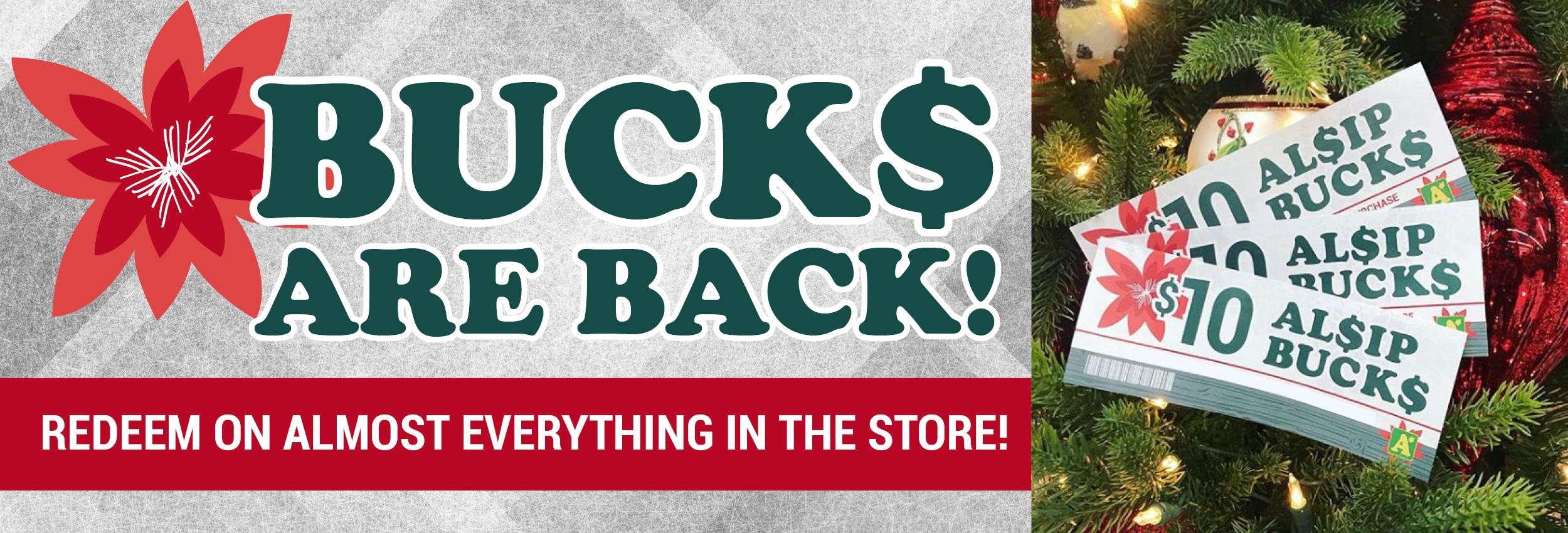 Alsip Bucks Promotion