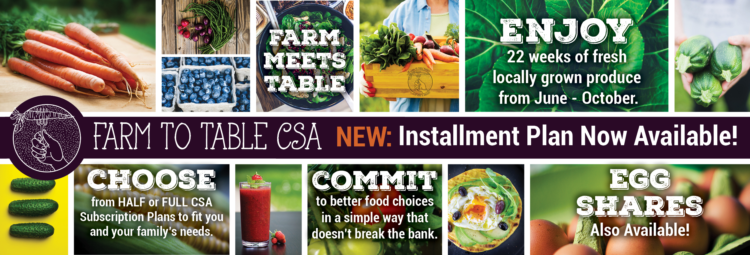 Alsip Home & Nursery Farm to Table Market Community Supported Agriculture Program