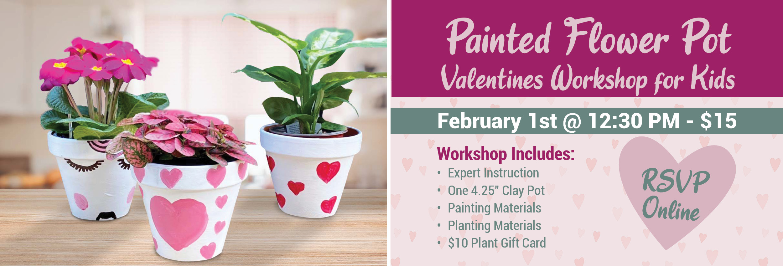 Kids Valentines Workshop