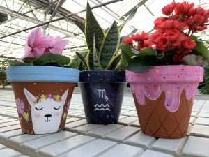 Custom Painting Flower Pot