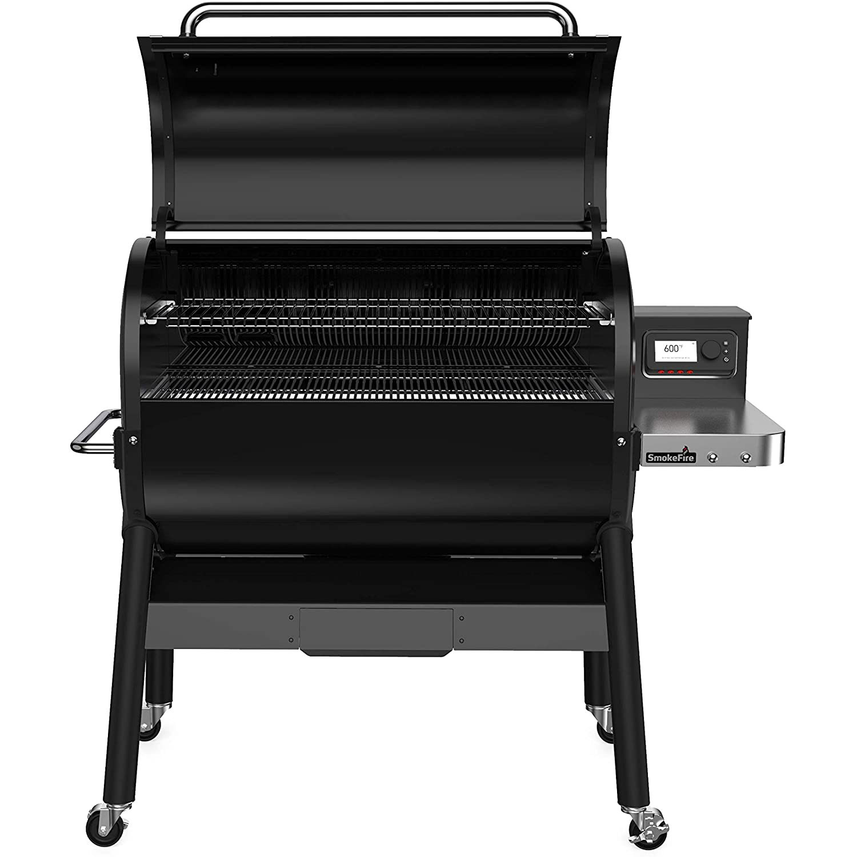 Weber SmokeFire EX6 Wood Fired Pellet Grill, Black | Alsip ...