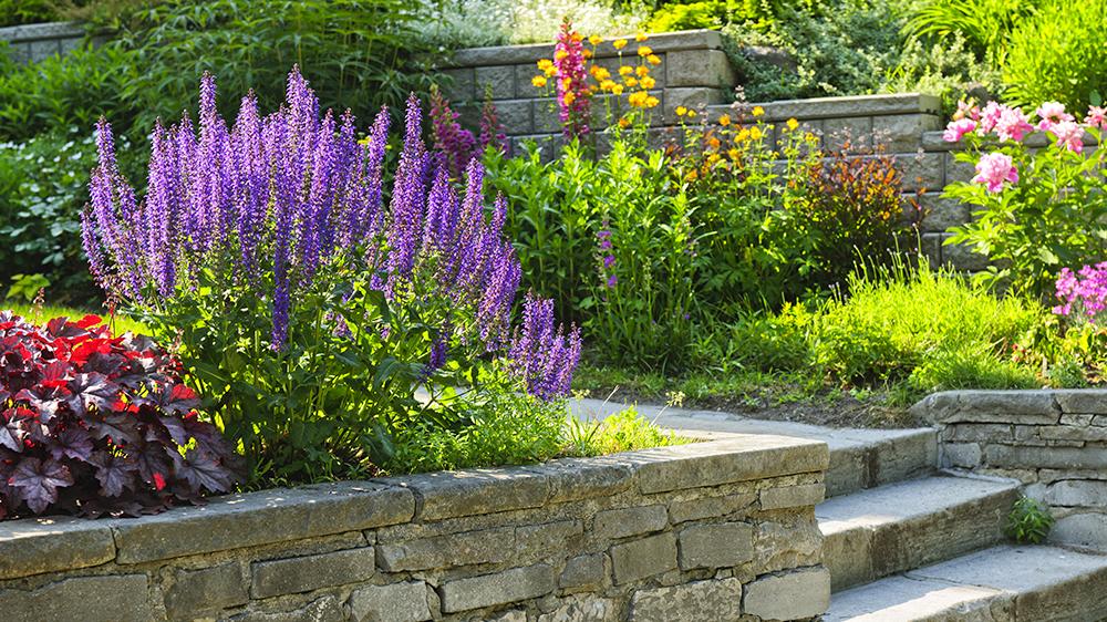 alsip-nursery-beginner-landscaping-tips-retainer-wall-garden