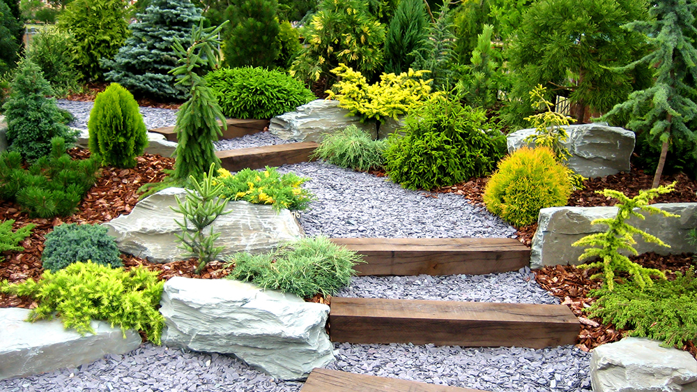 alsip-nursery-beginner-landscaping-tips-stone-garden-feature