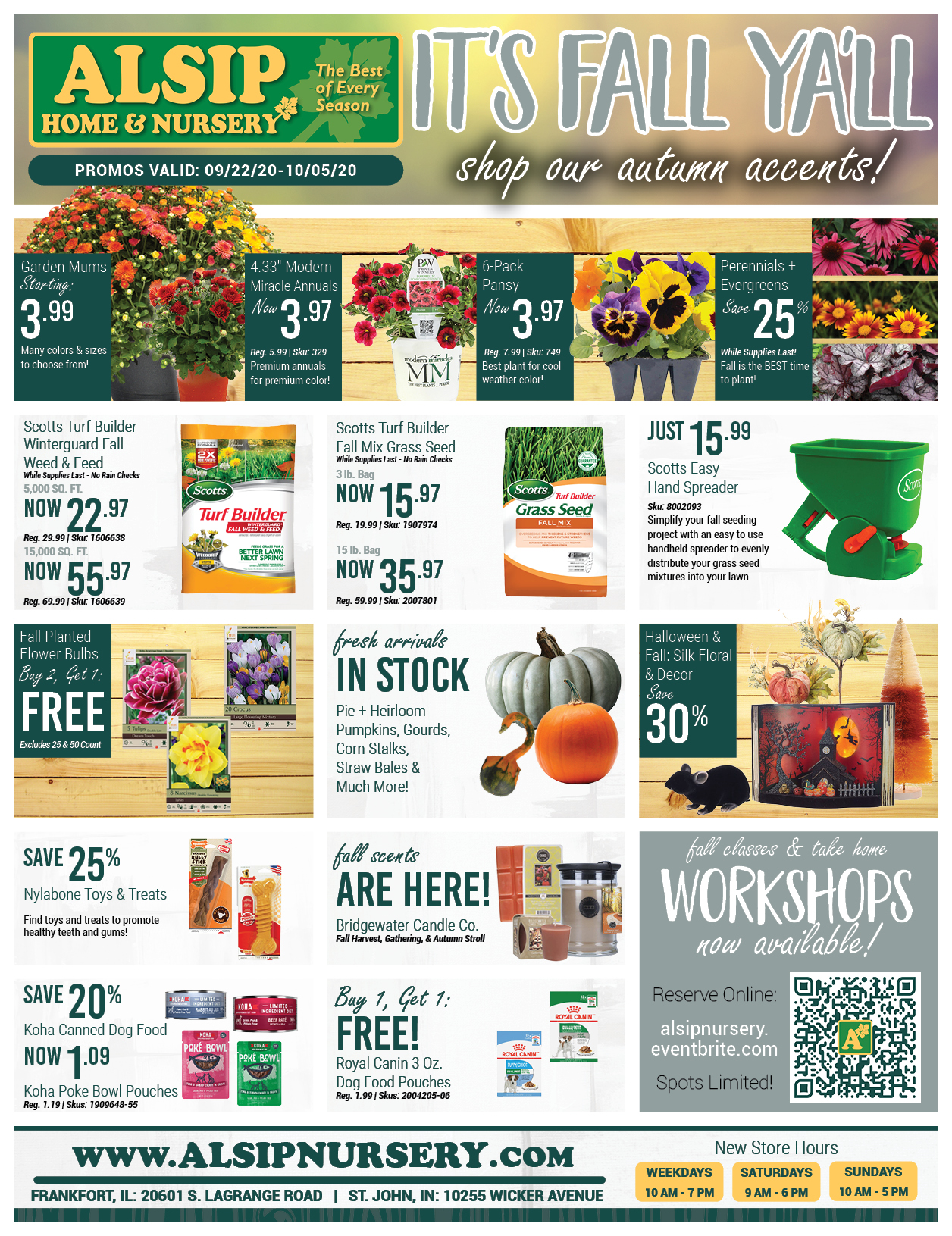 Shop Fall Decorating Finds from Alsip Home & Nursery!