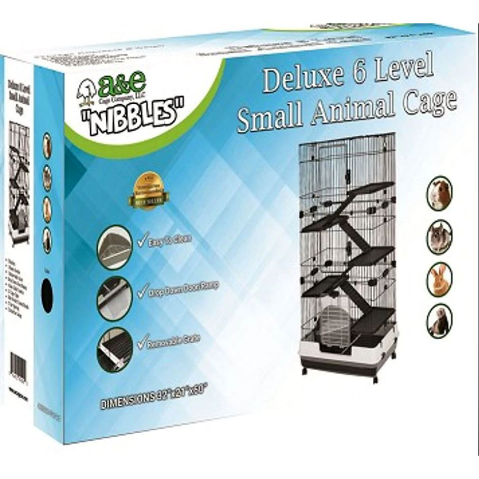 Deluxe 6 Level Small Animal Cage, 32