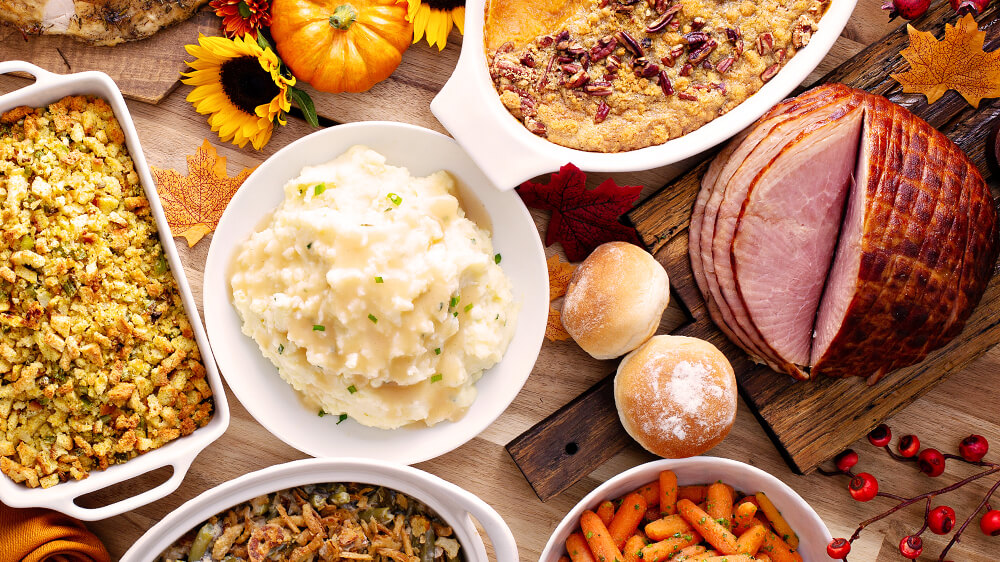 alsip-thanksgiving-dinner-recipes-ham-carrots-mashed-potatoes