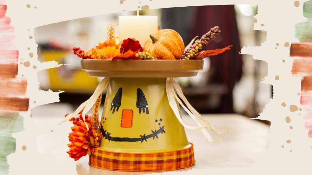 Scarecrow Candle Holder Workshop