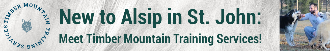 Timber Mountain Training Services is Joining Alsip Home & Nursery In St. John!
